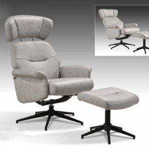 CX-6229 Recliner chair with stool