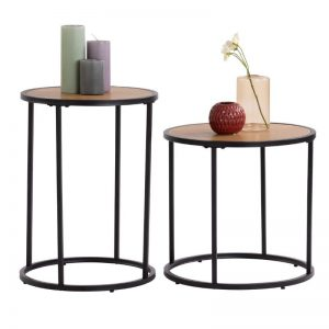 Bradford Industrial metal frame nesting table