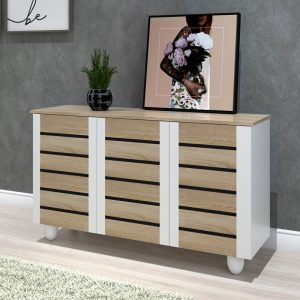 ENYA 3 door shoe cabinet