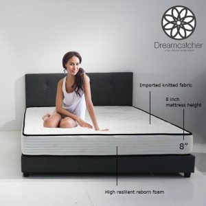 DREAMCATCHER 8″ queen size foam mattress
