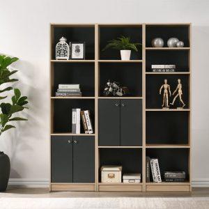MIDO modular bookcase filling cabinet
