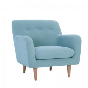 portage Single Seater Sofa – Aquamarine