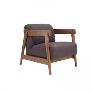 Daewood Lounge Chair - Dark Grey