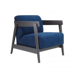 Daewood Lounge Chair - Midnight Blue