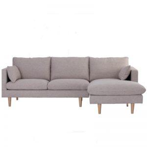 Yaris 3 Seater Sofa  - Natural + Beige