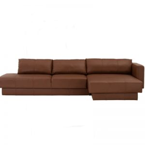Almera 4 Seater Sofa - Hickory colour