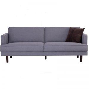 Odyssey 3 Seater Sofa - Black + Grey