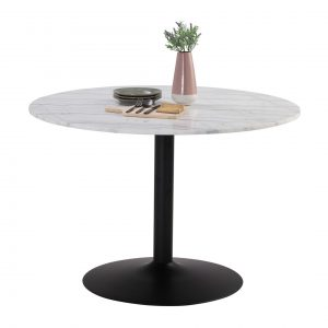 MARMOR dia 110cm real marble round table