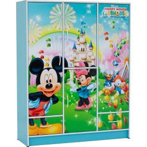 Wonderland 5 door children wardrobe-Mickey