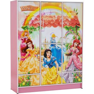 Wonderland 5 door children wardrobe-Snow White