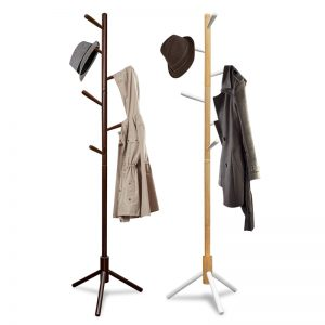 CH-B882 solid wooden cloth hanger