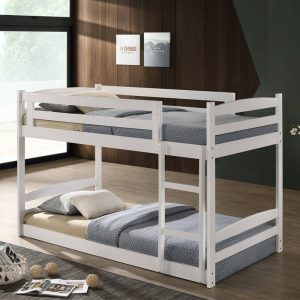 DREAMZ solid wood double decker bunk ber-white