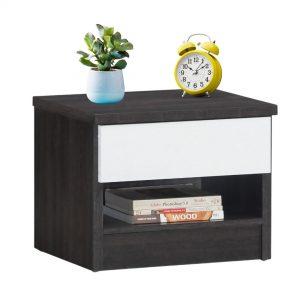 LEA 1 drawer bedside table