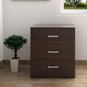 MEMPHIS 3 drawer chest drawer- Wenge
