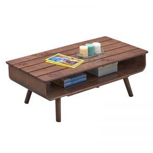 Walnut Coffee Table GOLD 14-186-CT-WL