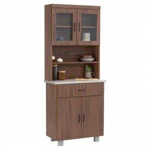 FREY tile top kitchen cabinet-362004