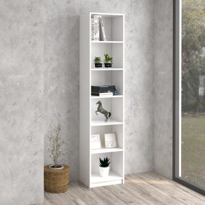 H2883 BILLY narrow 6 tier bookcase