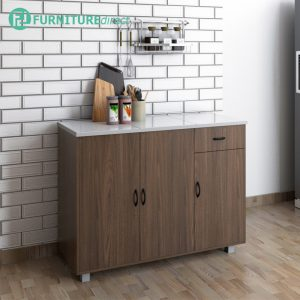 FREY tile top kitchen cabinet-364004