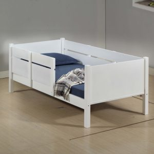 LT1247 solid wooden single size playpan bed