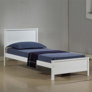 LT1253 solid wooden super single size bed frame