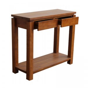 MRCSL-146 Solid Teak Wood Console Table Oak