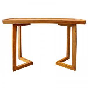 MRCSL-147 Solid Teak Wood Console Table Oak