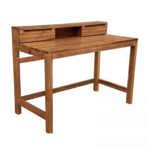 MRWRT-085 Solid Teak Wood Study Desks Oak