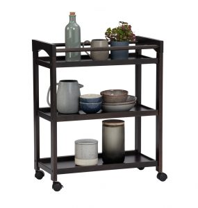Clancy Solid Wood Kitchen Trolly