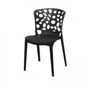 PP-1390 BK Plastic PP Chair Black
