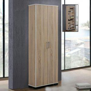 DS6136 2 door tall shoe cabinet