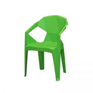 PP-813 GR Polypropylene PP Chair Green