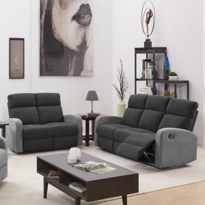 MARLEY 2+3 Seater fabric recliner