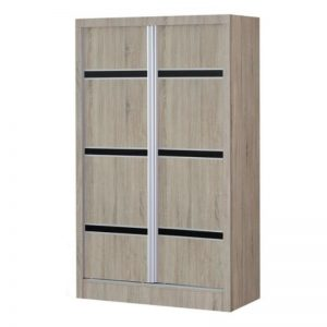 WD- 3239 Chipboard 3Ft 2 Sliding Doors Wardrobe Vintage Oak