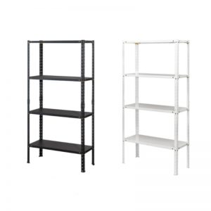 BR-7234 Metal Convy Rack White / Black