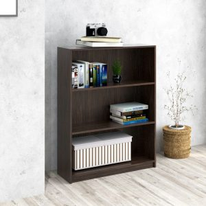 BILLY 3 Tier bookcase-chocolate