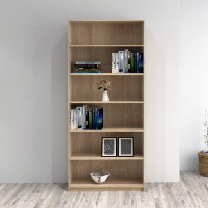 BILLY 6 Tier bookcase-Oak