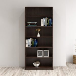 BILLY 6 Tier bookcase-Chocolate