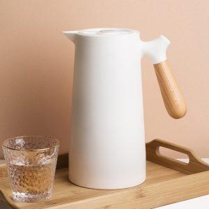 Scandic 1L thermal jug-white