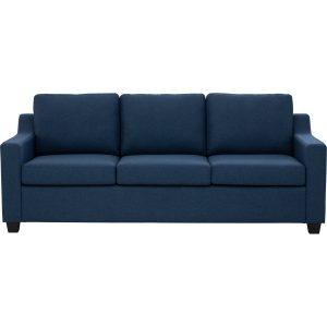 Baleno 3 Seater Fabric Sofa – Yale Colour
