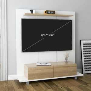 ARNOLD 160cm TV wall system-white