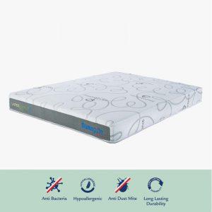 Dunlopillo Eco 12″ Talasilver Latex with DuraAire technology mattress
