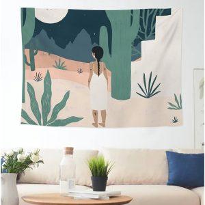 Morandi art 150×130 wall decor hanging cloth