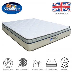 Silentnight Sleepy Zone 10″ high density foam mattress