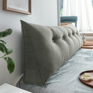 Portable headboard cushion queen size