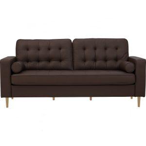 Royce 3 seater sofa- Mocca PU
