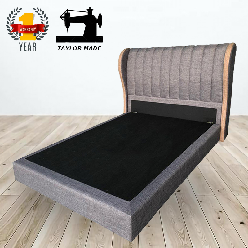 Custom Made Cb046 Divan Bed Frame 4, Custom Made Queen Size Bed Frame