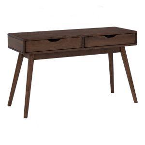 LAMAR Solid Wood Console Table –  Cocoa colour