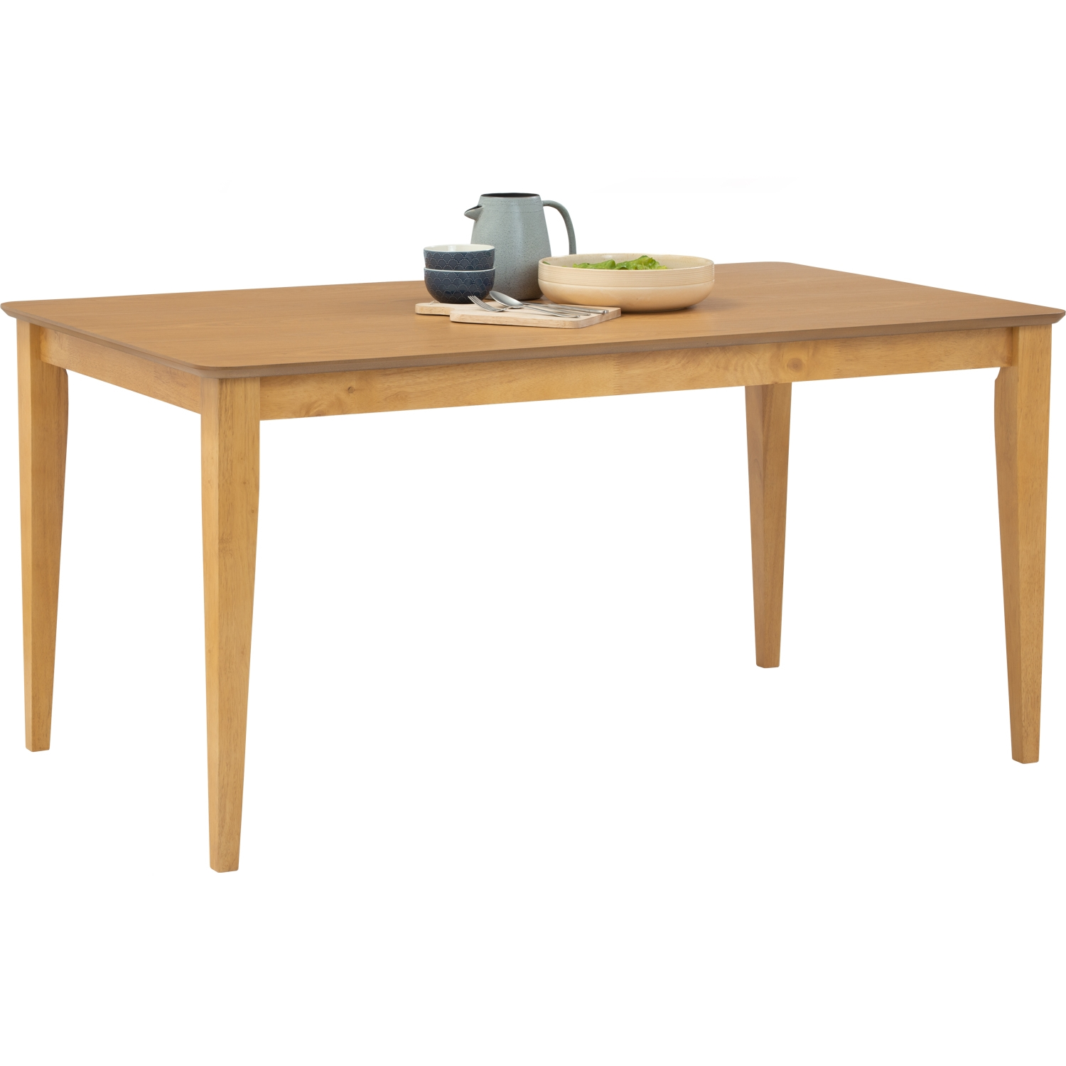 Allegro 1 5m Solid Wood Dining Table, Allegro Dining Room Furniture