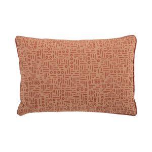 400 x 600 Rectangle Cushion in Orange colour