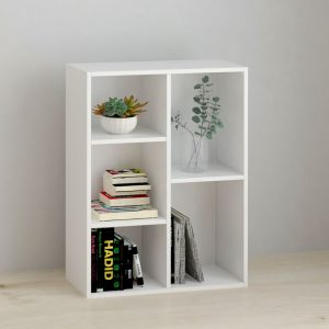 BILLY 5 cube filling cabinet-White